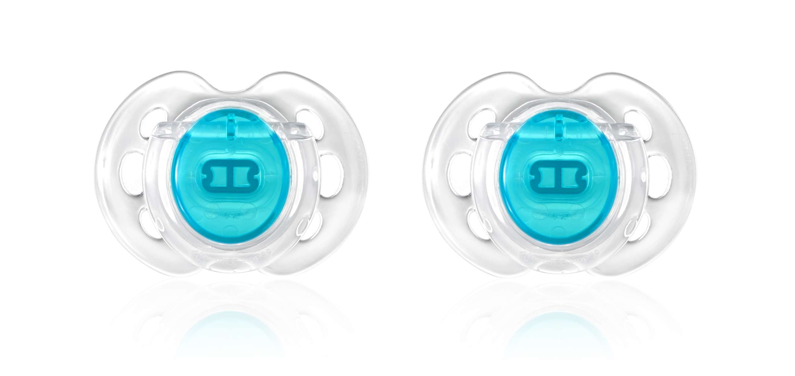 7070 - tt ctn 2x 0-6m air style soother - blue