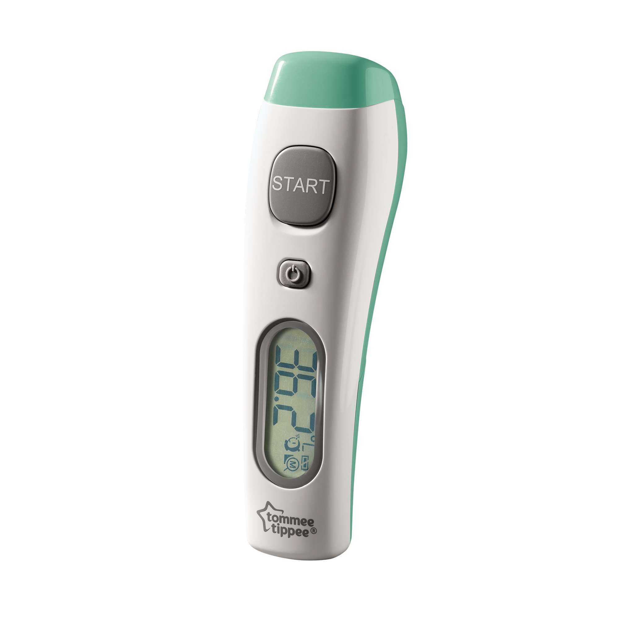 digital no touch thermometer, side on