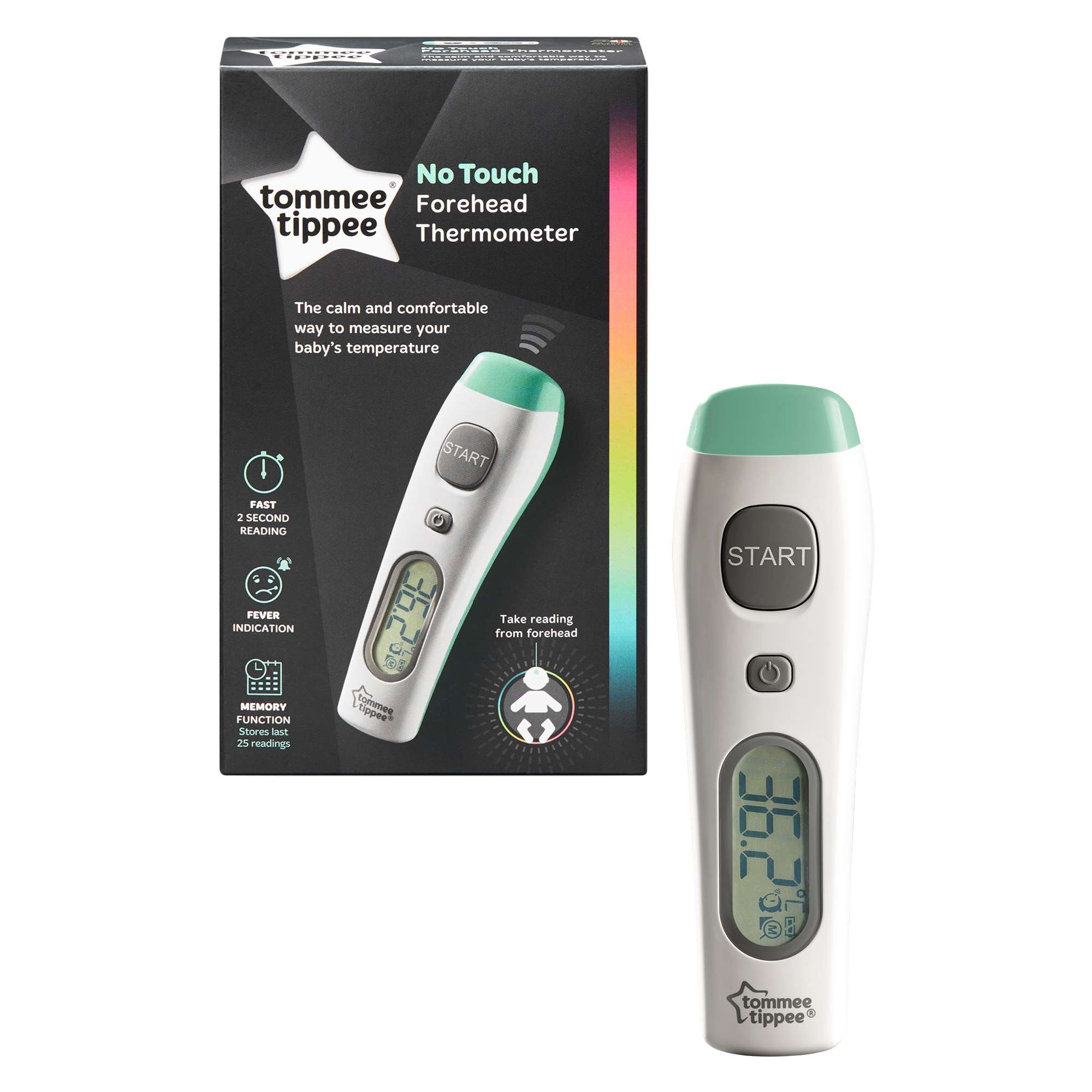 digital no touch thermometer, uk merged product & pack